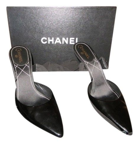 Chanel Patent Silk Ankle-wrap - Excellent Condition! #94305 Black Formal Shoes. Get the must-have formal shoes of this season! These Chanel Patent Silk Ankle-wrap - Excellent Condition! #94305 Black Formal Shoes are a top 10 member favorite on Tradesy. Save on yours before they're sold out!