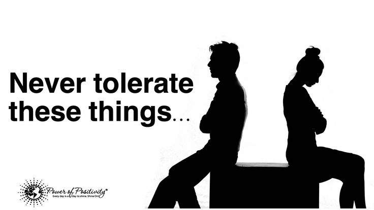 Relationships should make you happy, and help you become a better person. Never tolerate these 10 critical things in a relationship...