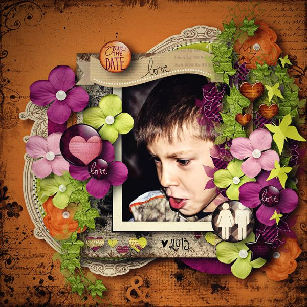Once Upon A Time /Collab/ Kit Beedee and Sabee's Creative World  template Fuss Free:Freebee43 by Fiddle-Dee-Dee-Designs