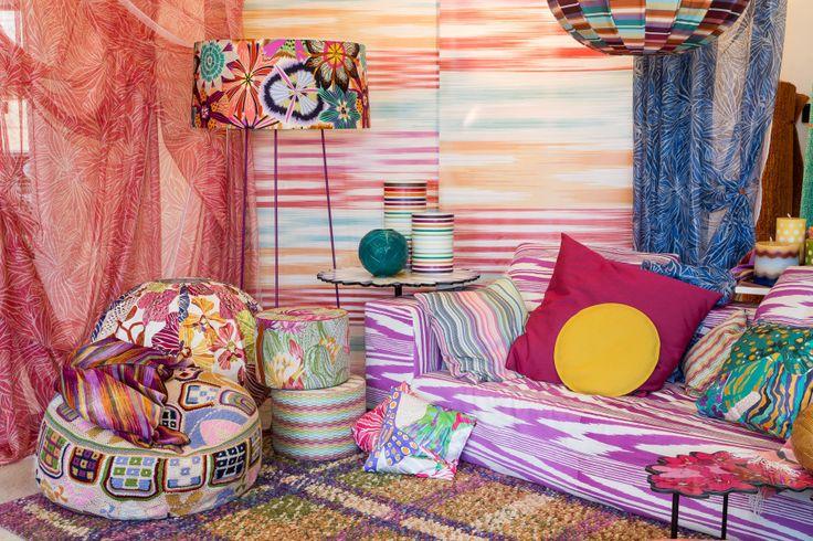 Missoni Home Moda e Design per la Casa  Divano e Pouf