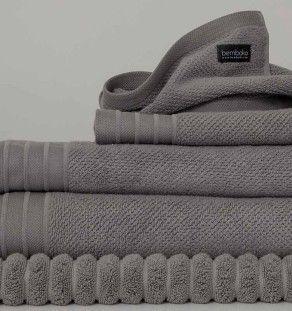 bemboka grey bath towels