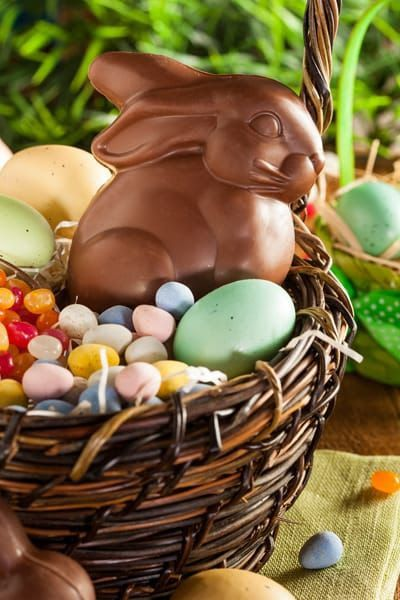 113 best spring easter images on pinterest easter spring and how to make a gluten free easter basket if youre wondering how to make a gluten free easter basket for your child or grandchild heres a list of safe negle Image collections