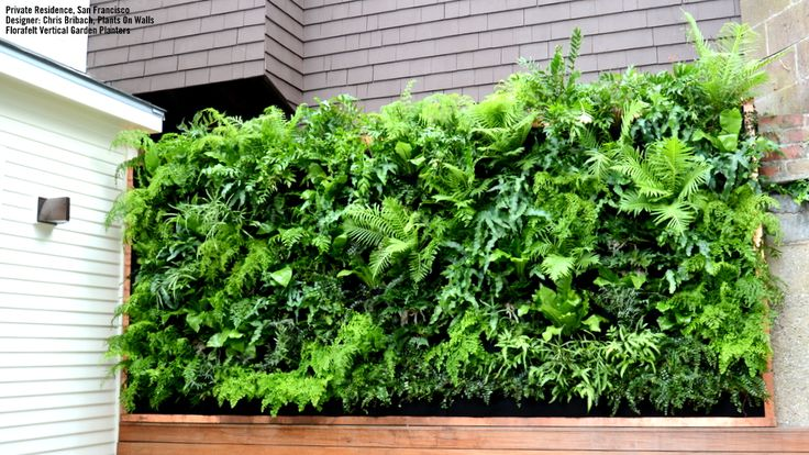 Florafelt Vertical Garden Planters and Living Wall Systems #EasyNip