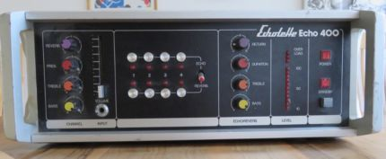 Echolette Echo 400 analoges Echo/Nachhallgerät RARITÄT in Bayern - Würzburg | Musikinstrumente und Zubehör gebraucht kaufen | eBay Kleinanzeigen