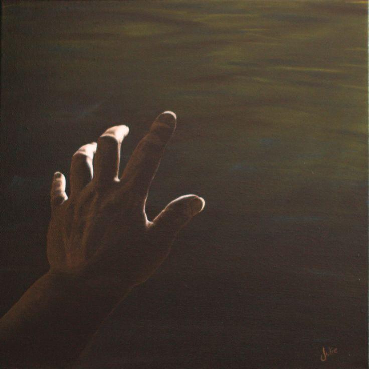 """New Light""  (acrylic, J.Lee, 2014)"