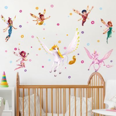 Wandtattoo Kinderzimmer Mia and Me - Sara, Onchao, Kyara mit den Elfen 120x160-40.00 Jetzt bestellen unter: https://moebel.ladendirekt.de/dekoration/wandtattoos/wandtattoos/?uid=5e97c0a8-1a2a-55e6-bc5b-ebd614a92512&utm_source=pinterest&utm_medium=pin&utm_campaign=boards #tattoos #tapeten #farben #dekoration