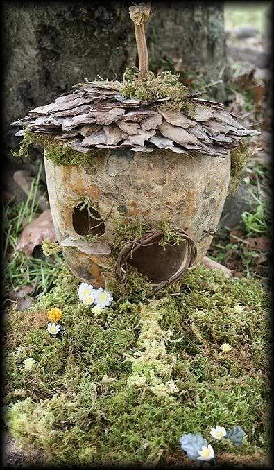 419 Best Fairy House Images On Pinterest Fairies Garden