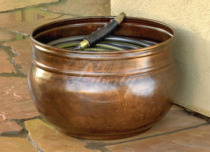 Wonderful The Liberty Model 1901 Hose Pot Makes Hose Storage Simple. Designed With A  Center Stem