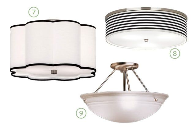 17 best images about ceiling light on pinterest semi flush ceiling lights drums and chicken wire - How to get your kitchen ceiling lights right ...
