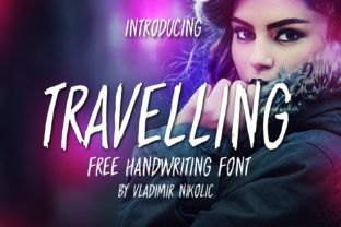 http://Travelling is a stunning free brush font created by Vladimir Nikolic.