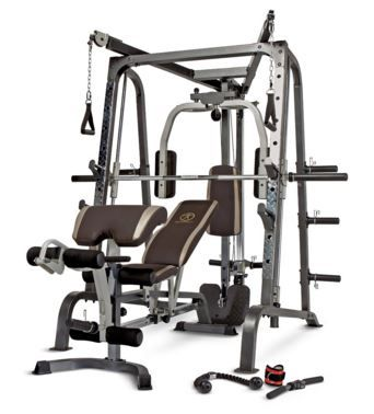 Check out the review of all 3 versions of Marcy Home Gyms here!
