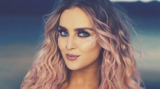 Perrie in the Shout Out To My Ex music video