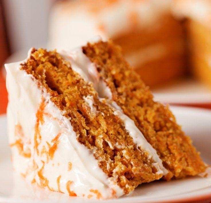 Морковный торт без вреда для фигуры