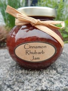 "Wanting to break out of the ""Strawberry Rhubarb"" rut, (not that I really considering it a rut because it is one of my all time favorite jams!) I wanted to find a rhubarb jam equally as tasty. I had..."