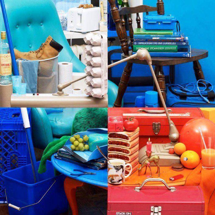 Gambar Foto seni fotografi gambar tunggal multi objek