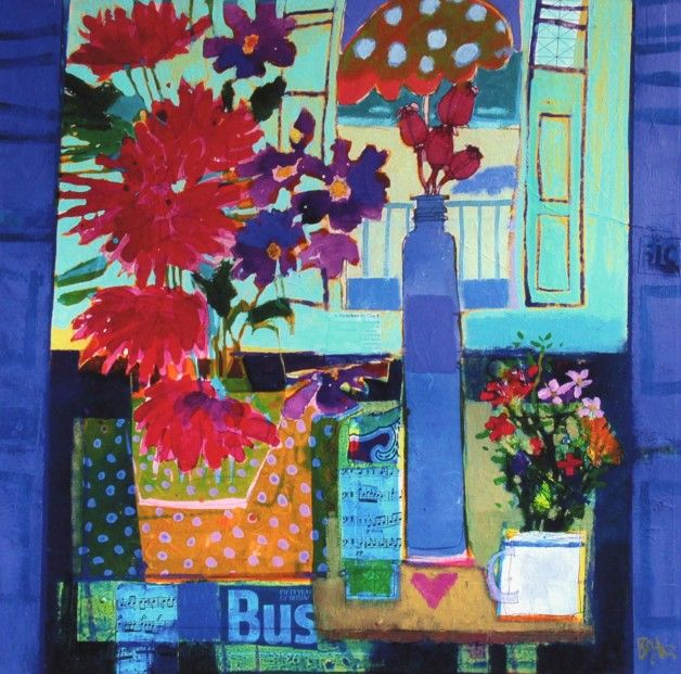 Francis Boag, Catherine's Bouquet, Signed Limited Edition Print Giclee | Scottish Contemporary Art