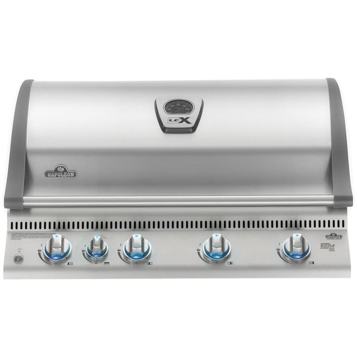 Napoleon Built In LEX 605 with Infrared Bottom and Rear Burners (BILEX605RBI) Gas BBQ Head comes with the highest standard components. Stainless Steel BBQ