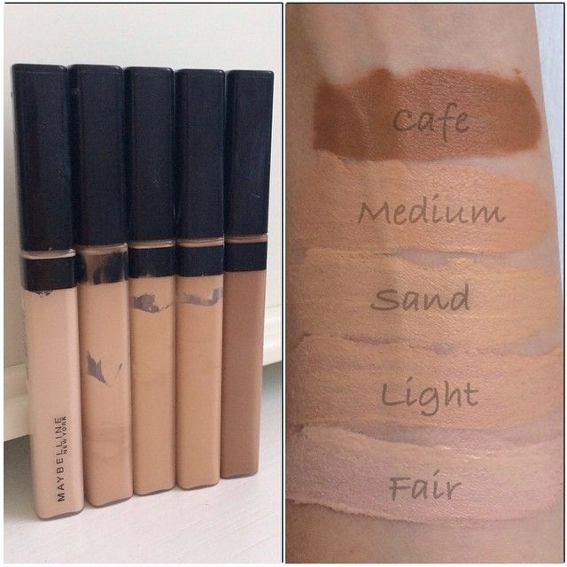Maybelline Fit Me concealers. Follow my instagram @mellyfmakeup