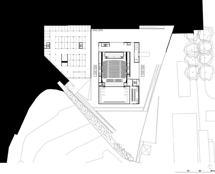 Municipal Theater of Guarda_Plan