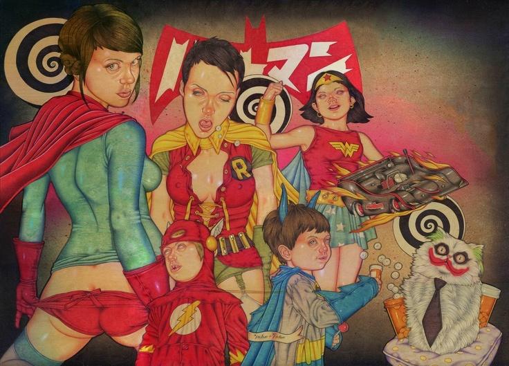 super villans by john john jesse