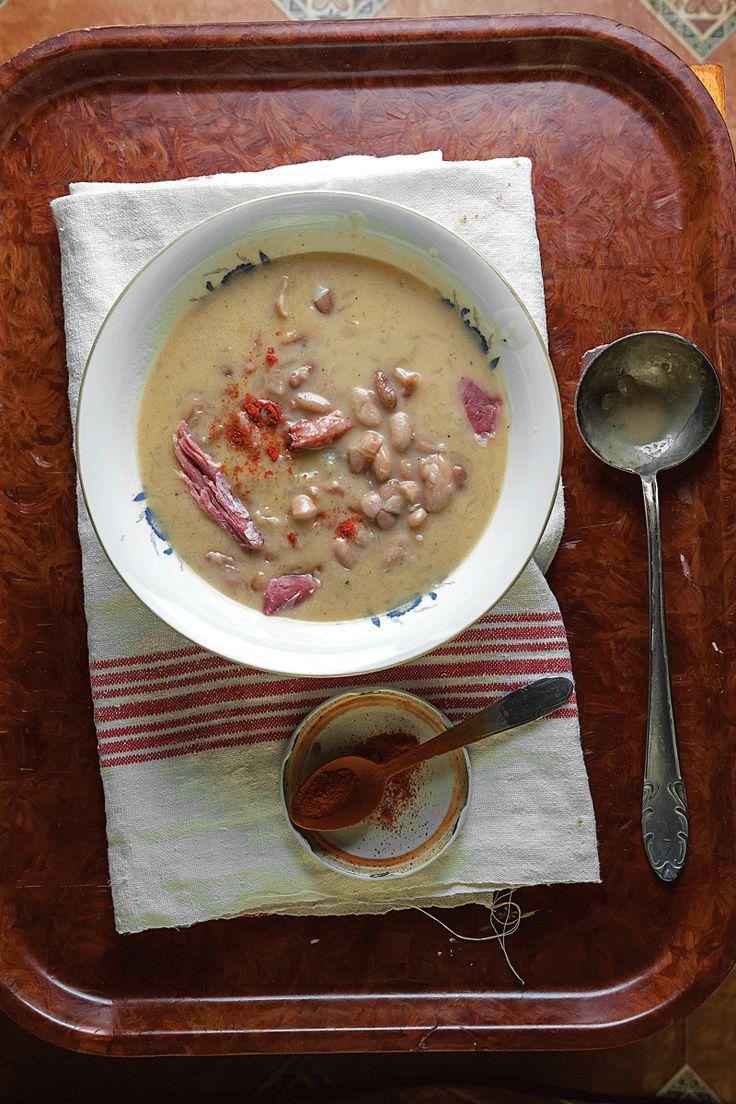 Csülkös Bableves (Hungarian Bean and Ham Soup) | SAVEUR