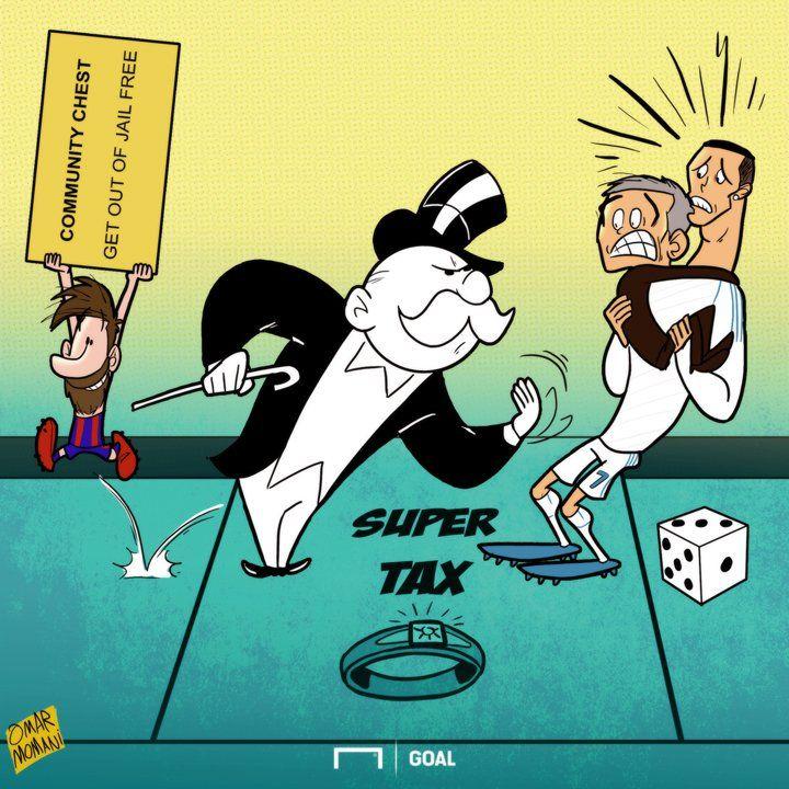 Монополия в испанской лиге - Футбольные карикатуры - Блоги - Sports.ru