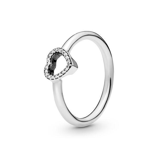 anello pandora cuori aperto