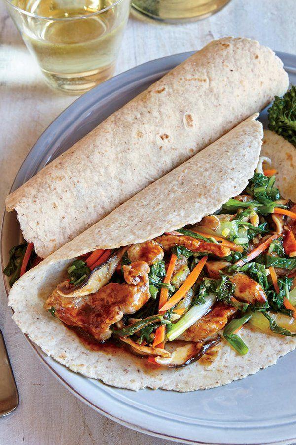 Mu Shu Pork Wraps Recipe Pork Wraps Pork Recipes Dinner Dishes