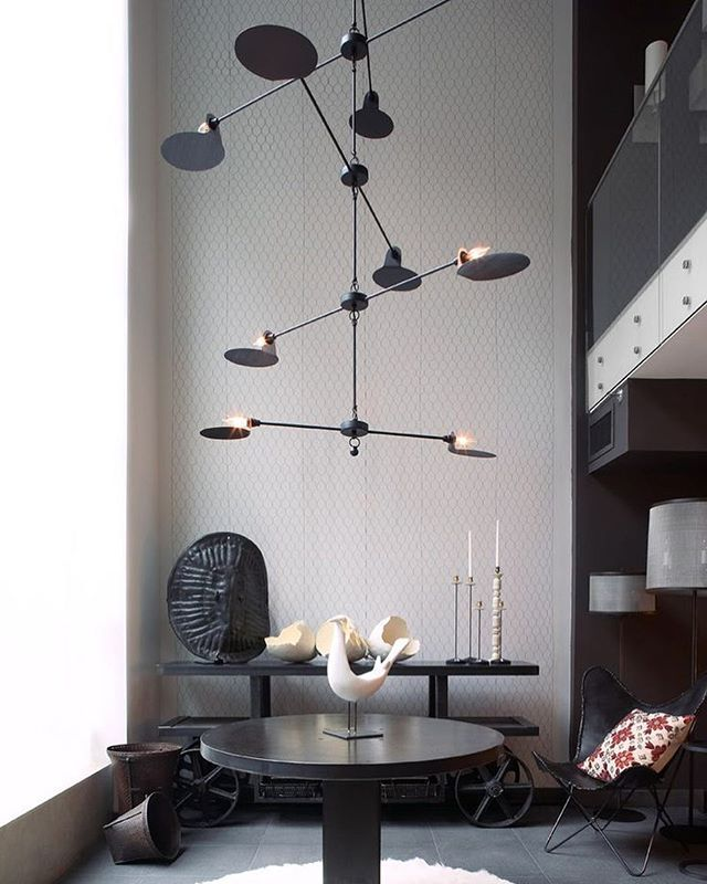 Inspiration Completely Infatuated With This Stunning Mobile Chandelier Designed By French Lighting De Mobile Chandelier Chandelier Design French Lighting