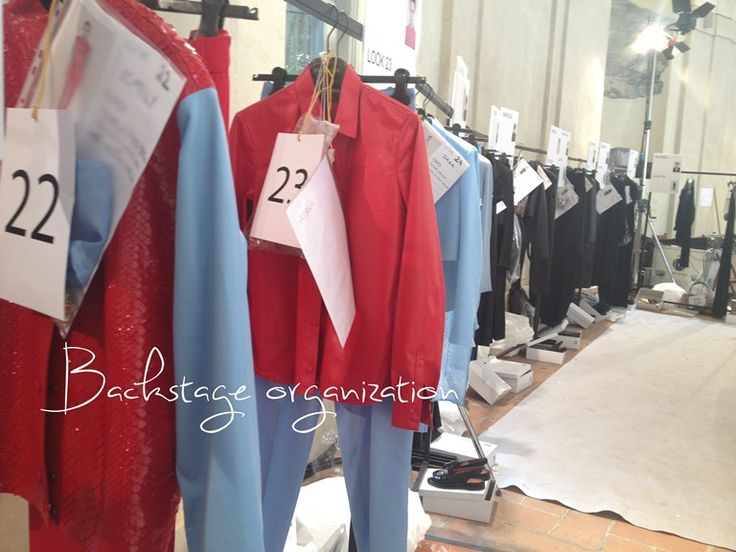The calm before the storm #backstage #trussardi