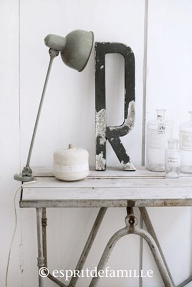 campagne chic d co brocante ou industrielle esprit de. Black Bedroom Furniture Sets. Home Design Ideas