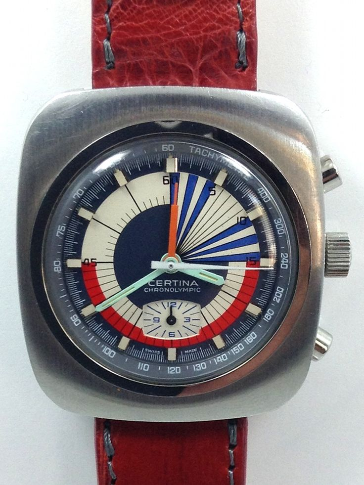 Royce Diver Chronograph V72 Exotic Dial c.1960's - The Watch Shop Los Angeles