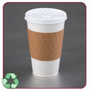 LBP Kraft The SleeveTM 10, 12, 16, 20 oz. Hot Cup Sleeve - 1200/cs by Levine Brothers. $68.04