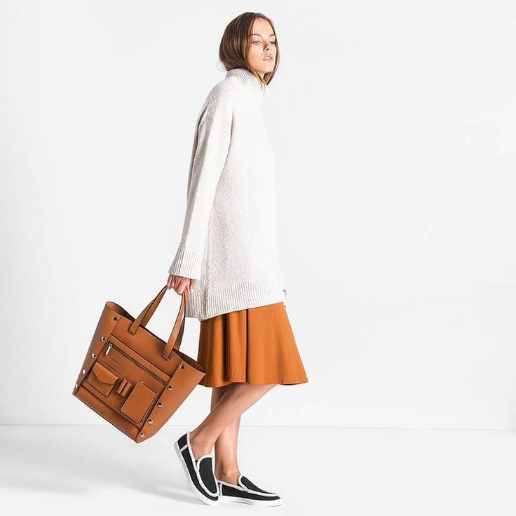 Utilitarian Tote Bag   CHARLES & KEITH