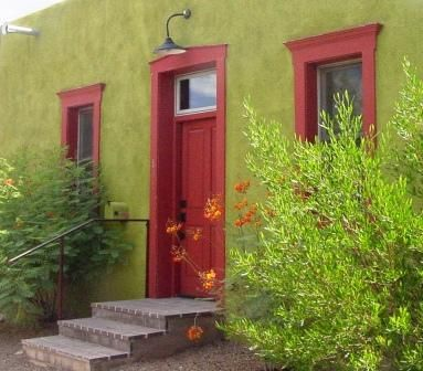 17 best images about southwest tiny homes on pinterest for Arizona exterior house colors