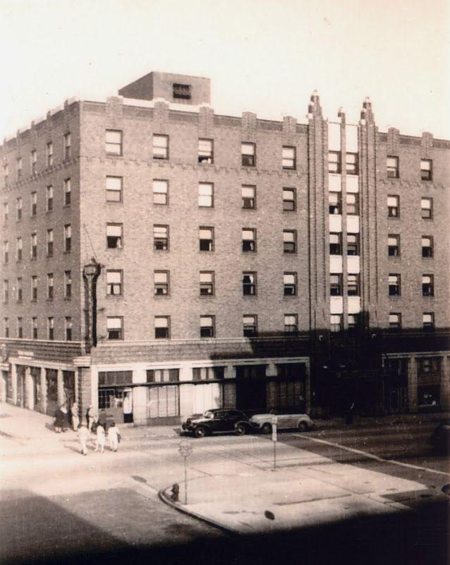 Hotel Belleville Circa 1943 Southeast Public Square