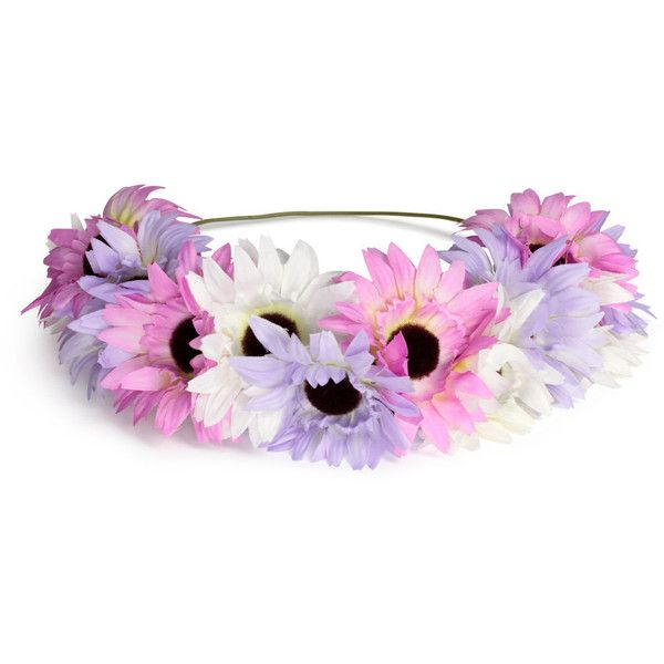 Hairband with Flowers $9.99 ($9.99) ❤ liked on Polyvore featuring accessories, hair accessories, headband hair accessories, hair band headband, flower hair accessories, h&m hair accessories and head wrap headband