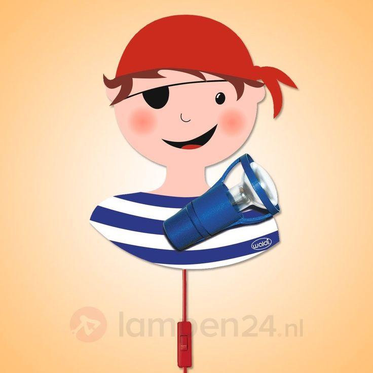 PIRAAT - originele wandlamp voor kinderen veilig & makkelijk online bestellen op lampen24.nl