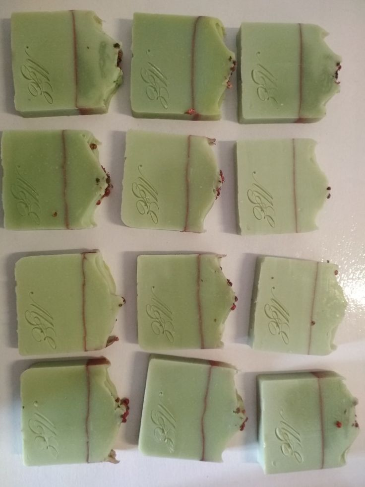 Natural olive oil soap with pine essential oil!