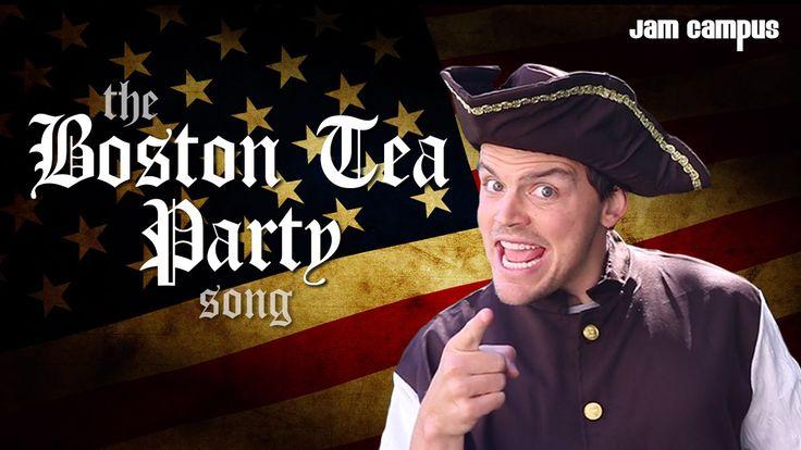 The Boston Tea Party Song (Parody of Pharrell Williams - Happy)