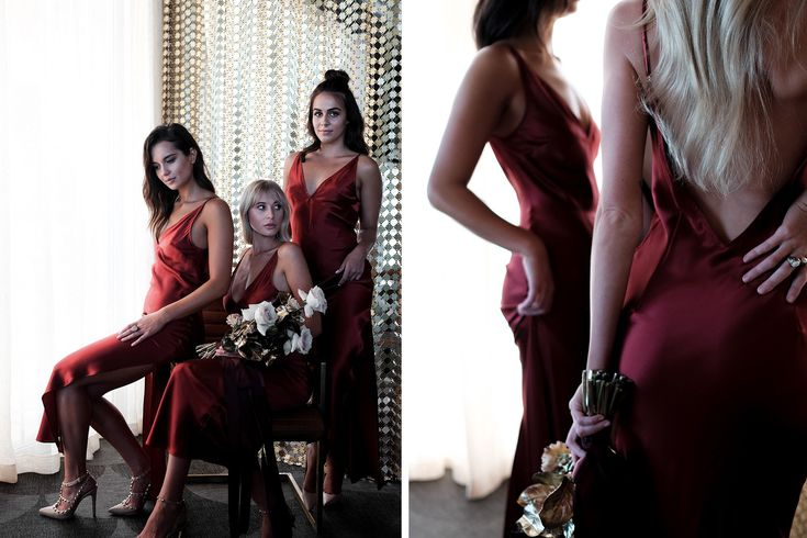 From Peach to Wine: Natalie Rolt Bridesmaids – Envelopes by Olympia