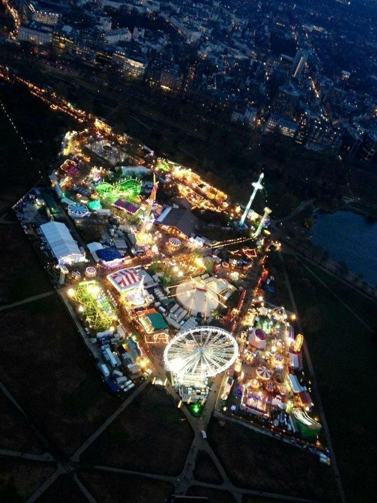 winter wonderland, hyde park, london