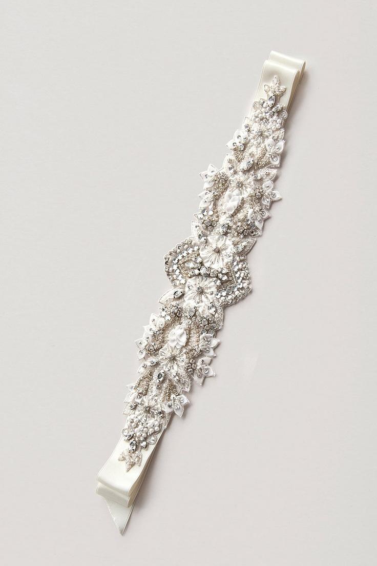 Handmade crystal bridal belt rhinestone pearl luxury wedding dress - Items Similar To Paige Sash Crystal Sash Rhinestone Sash Wedding Sash Bridal Belt On Etsy