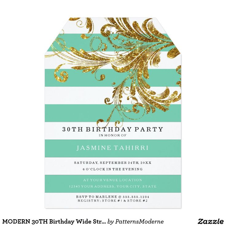 101 best BIRTHDAY PARTY INVITATIONS FOR WOMEN images – Zazzle 30th Birthday Invitations