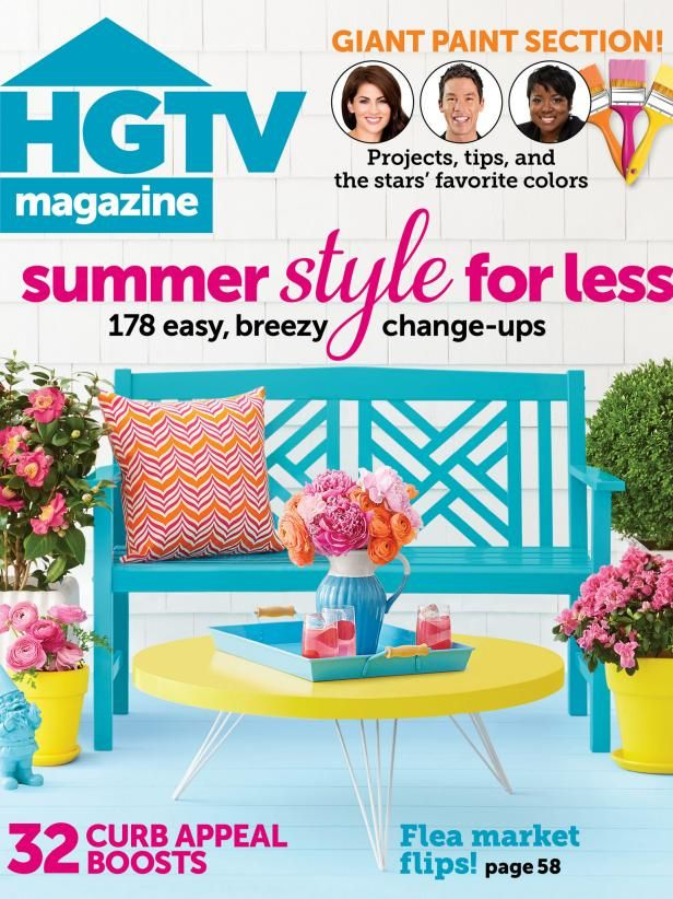The online content from the June issue of HGTV Magazine.