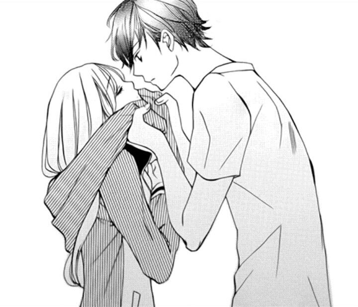 Sweetest Moment Of An Anime Manga: 157 Best Sweet Anime Couples Images On Pinterest