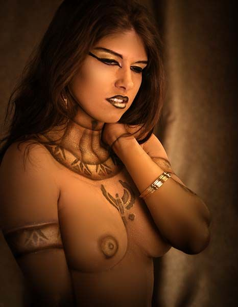 Egyptian girls naked breast