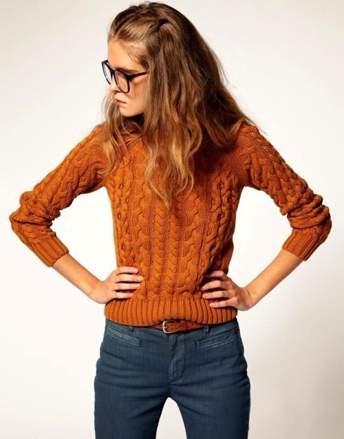 the color of this sweater is my favorite. yes!