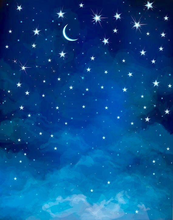 Goodnight Messages The BEST Free Advertising There Is Craft Textile Moon Stars Wallpaper