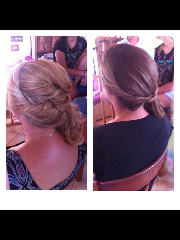 Bridesmaids hair-bridesmaids hair!